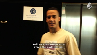 Lucas Vazquez gives us pre-season access at Real Madrid. DUGOUT