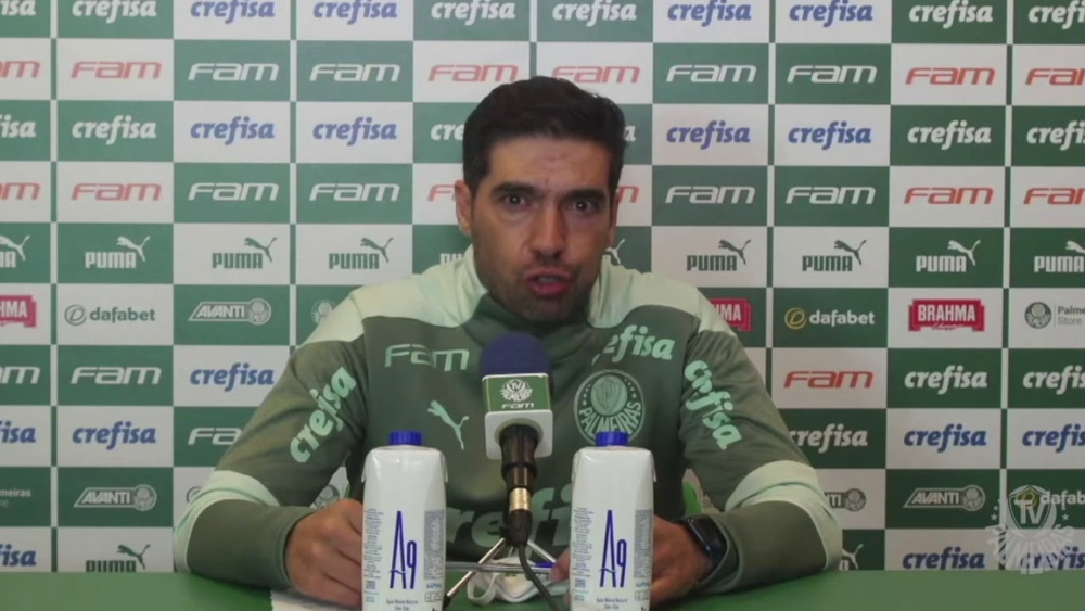 Técnico do Palmeiras falou após derrota para o Red Bull Bragantino. DUGOUT