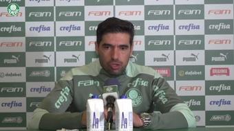 Abel Ferreira fica feliz com gol de Rony após recuperação de lesão. DUGOUT