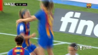 Barca Women comfortably beat rivals Madrid in the Copa de la Reina semis. DUGOUT