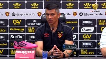 Gustavo Florentín fala sobre dar mais intensidade e contundência ofensiva ao Sport. DUGOUT