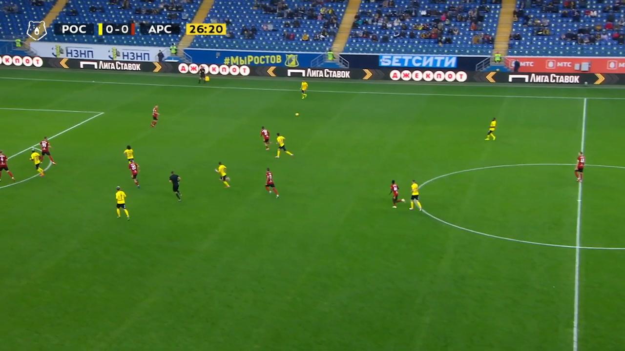 VIDEO: Rostov put four past Arsenal