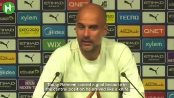 Guardiola on Sterling and Grealish. DUGOUT
