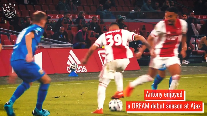Antony's first season in Amsterdam. DUGOUT