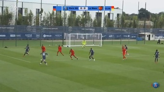 PSG played their first friendly of the pre-season against Le Mans. DUGOUT