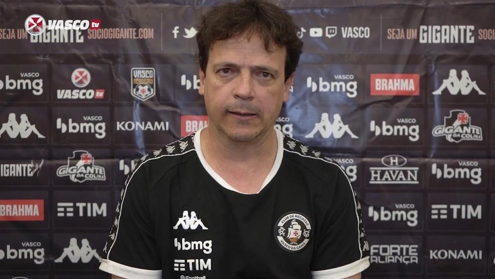 Treinador do Vasco comentou a derrota da equipe por 1 a 0 para o Sampaio Corrêa. DUGOUT