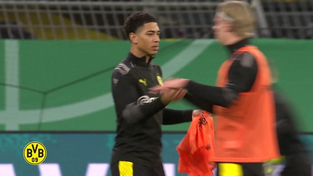 VIDÉO : le meilleur de Jude Bellingham avec Dortmund. Dugout