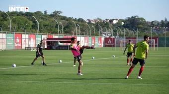 Internacional se reapresenta e inicia preparação de olho no Palmeiras. DUGOUT