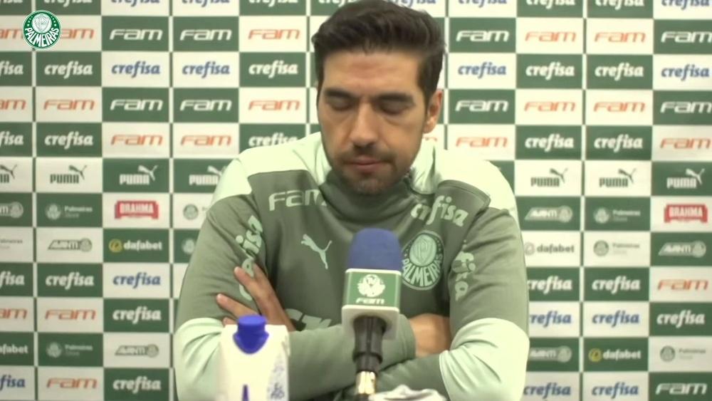 Abel Ferreira analisa derrota.