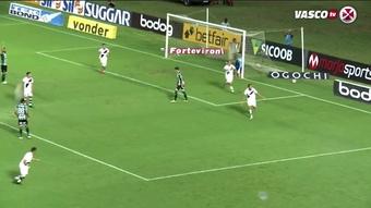 Confira gols da vitória do Vasco sobre o Coritiba em São Januário. DUGOUT