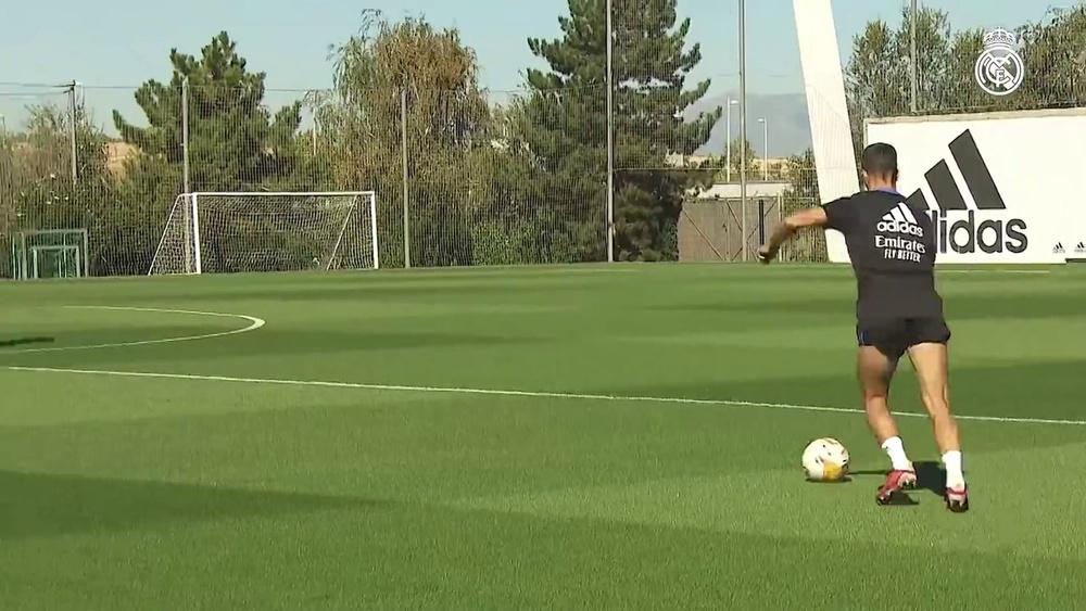 Real Madrid treina sem jogadores de seleções.
