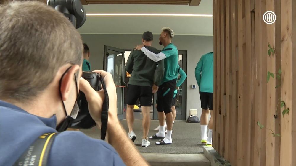 Eriksen volta à Inter de Milão após drama na Euro. DUGOUT