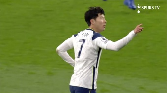 Son Heung-Min scored a great goal in Tottenham's 2-0 win over Arsenal. DUGOUT