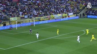 Les meilleurs buts du Real Madrid contre Villarreal. dugout