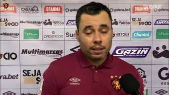 Jair Ventura pede paciência com jovens do Sport. DUGOUT