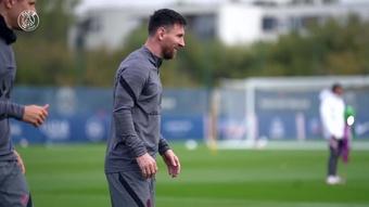 Las delicias de Messi ante el regreso de la Champions. DUGOUT