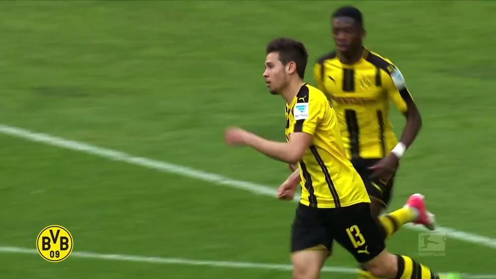 Golaços de Raphaël Guerreiro pelo Borussia Dortmund. DUGOUT
