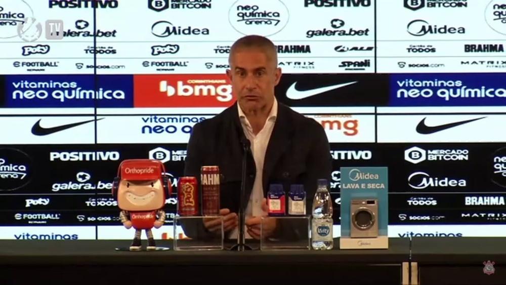 Técnico do Corinthians falou após vitória por 1 a 0. DUGOUT