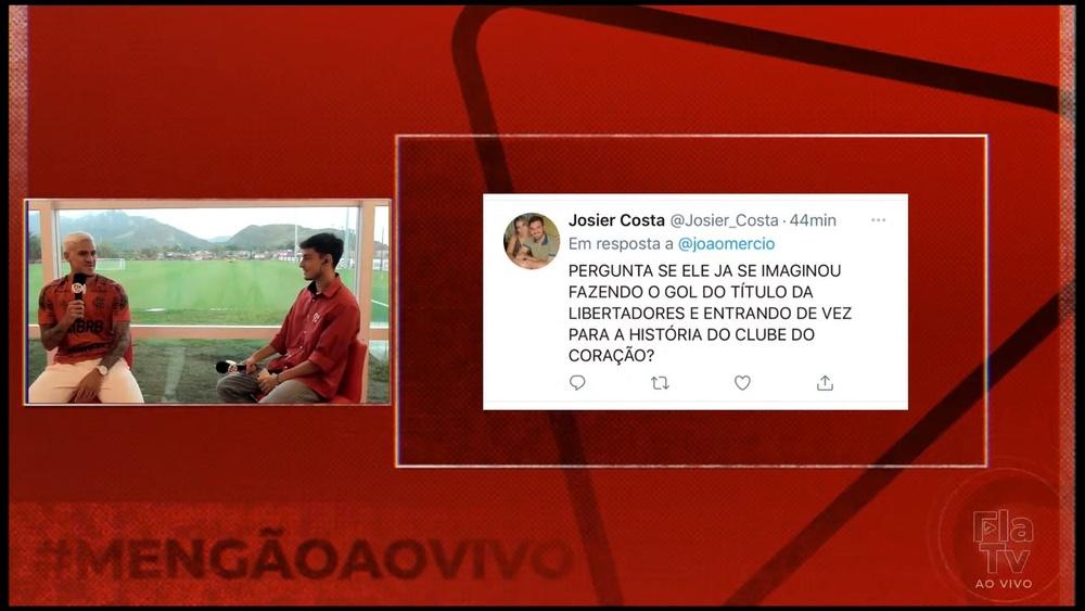 """""""Sonho com isso todos os dias"""", diz Pedro sobre marcar gol do título na Libertadores. DUGOUT"""