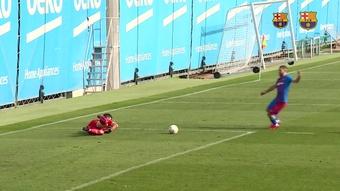 Barça y Cornellà empataron a dos goles en un amistoso. Dugout