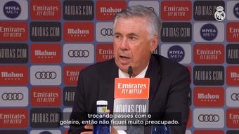 Assista trecho da entrevista do técnico do Real Madrid. DUGOUT