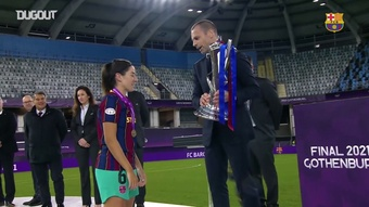 Barcelona sagra-se campeão da Champions League Feminina.