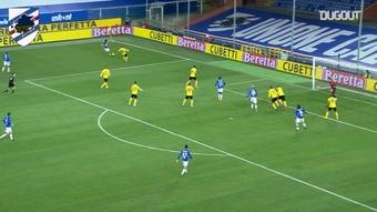 Il gol esordiente di Torregrossa contro l'Udinese