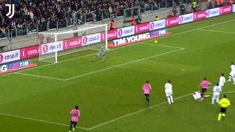 Il primo gol di Del Piero all'Allianz Stadium. Dugout