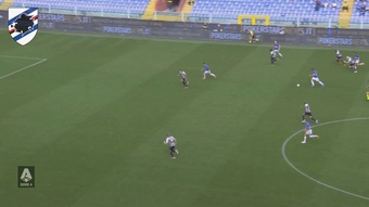 Sampdoria and Udinese played out a 3-3 draw. DUGOUT
