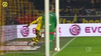 Le doublé d'Aubameyang contre Ingolstadt. Dugout