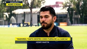 Henry Martín, encantado en el América. DUGOUT