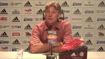 Renato Gaúcho revela que Gabigol passou mal e quase não joga. DUGOUT