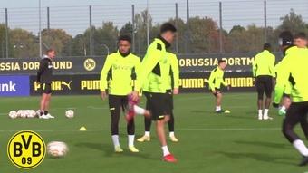 VIDÉO : l'entrainement de Dortmund avant l'Ajax. Dugout