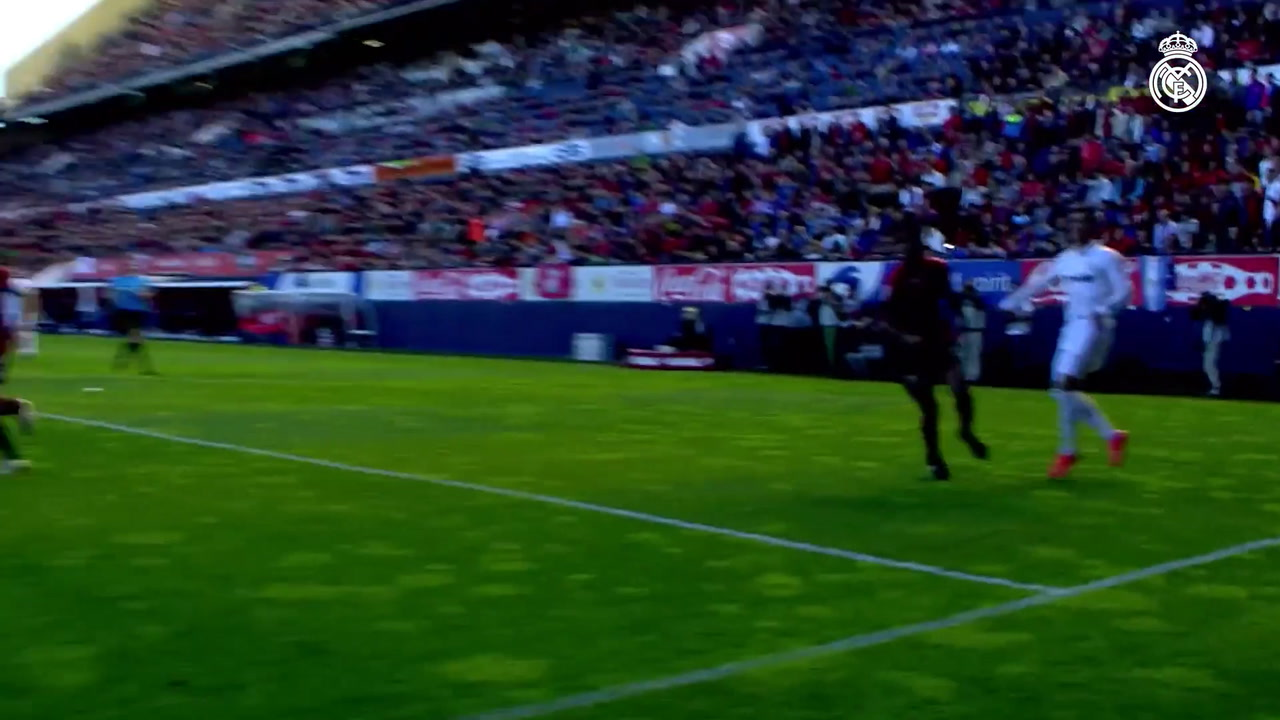 VIDÉO : Les meilleurs buts de Benzema contre Osasuna