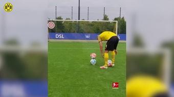 VIDÉO : le geste incroyable d'Erling Haaland à l'entrainement. Dugout
