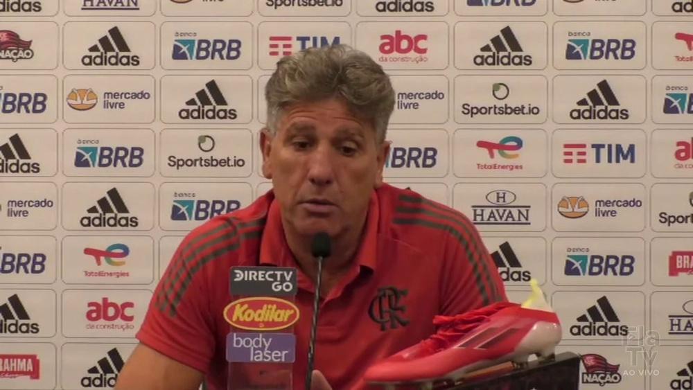 Renato fala sobre número de lesões no Flamengo. DUGOUT