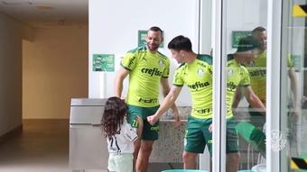 Weverton e Piquerez de volta aos treinos no Palmeiras. DUGOUT