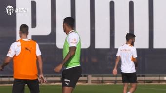 El Valencia jugará este miércoles en el Benito Villamarín. Dugout