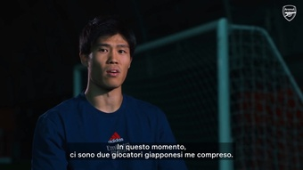Tomiyasu è orgoglioso di essere tra i giapponesi che giocano nella Premier League. Dugout