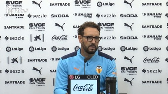 José Bordalás habló sobre los lesionados del Valencia. Dugout