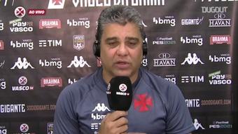 Técnico do Vasco contente com as alterações.