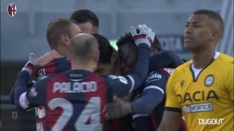Il gol di Tomiyasu contro l'Udinese. Dugout