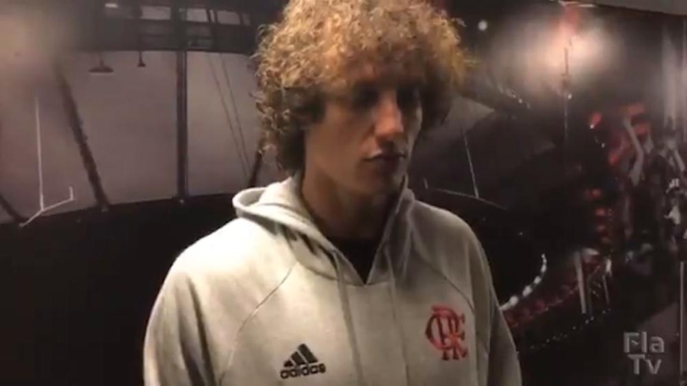 David Luiz e Andreas Pereira falam da emoção de jogar para torcida do Fla no Maracanã. DUGOUT