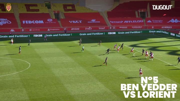 Los mejores goles del Mónaco en la Ligue 1 2020-21. Captura/DUGOUT