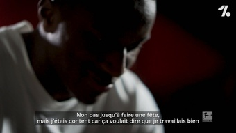 Moussa Diaby évoque sa première sélection. Dugout