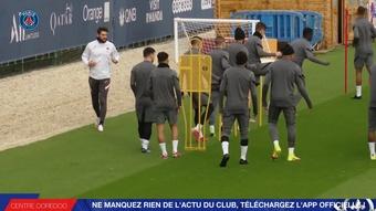 El PSG se prepara para su partido ante el RB Leipzig. DUGOUT