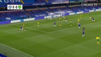 Le but vainqueur de Giroud contre Norwich. dugout