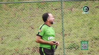 América-MG segue em preparação para confronto com o Santos. DUGOUT