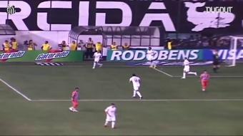 Relembre top 5 dos melhores gols de Neymar na Vila Belmiro. DUGOUT