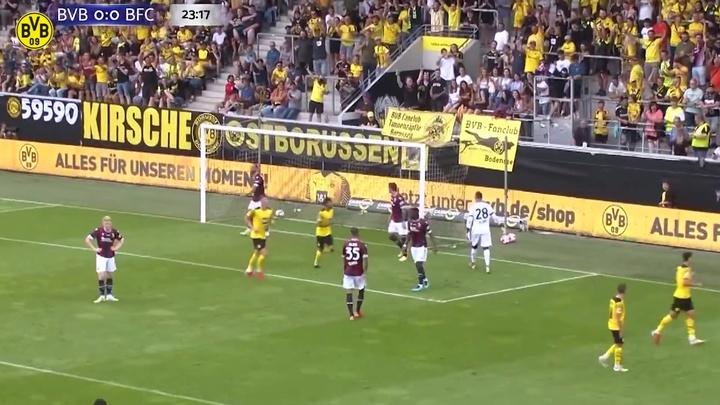 Dortmund bate o Bologna em amistoso de pré-temporada. DUGOUT